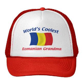 Coolest Romanian Grandma Trucker Hat