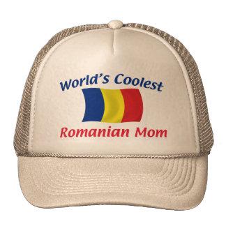 Coolest Romanian Mom Trucker Hat