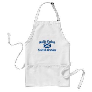 Coolest Scottish Grandma Adult Apron