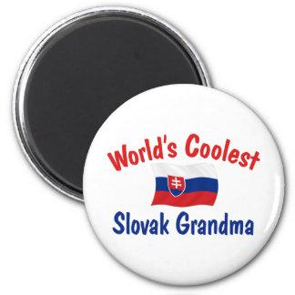 Coolest Slovak Grandma 2 Inch Round Magnet