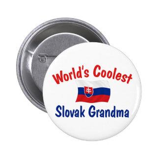 Coolest Slovak Grandma 2 Inch Round Button
