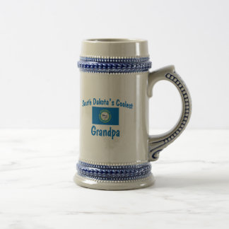 Coolest South Dakota Grandpa Beer Stein