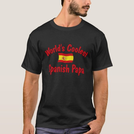 Coolest Spanish Papa T-Shirt