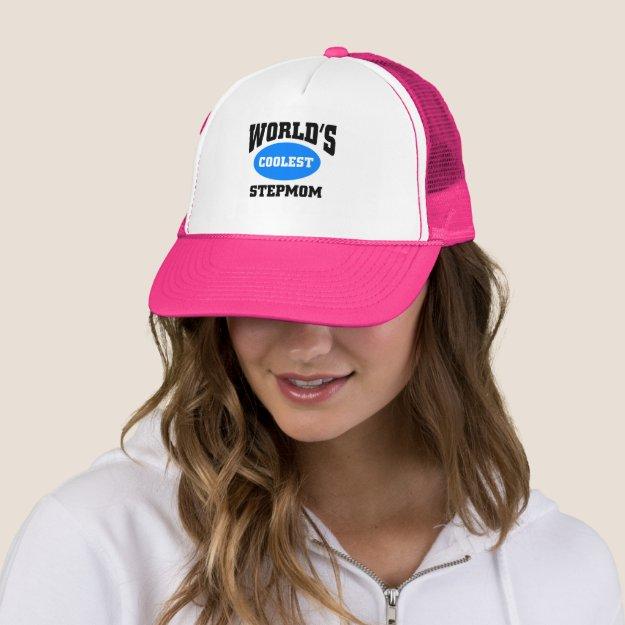 Coolest Stepmom Trucker Hat
