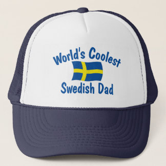 Coolest Swedish Dad Trucker Hat