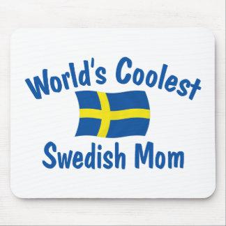 Coolest Swedish Mom Mousepads