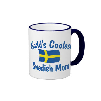 Coolest Swedish Mom Ringer Mug