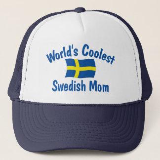 Coolest Swedish Mom Trucker Hat