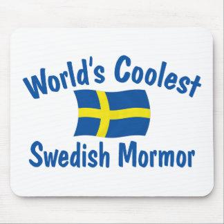 Coolest Swedish Mormor Mousepads