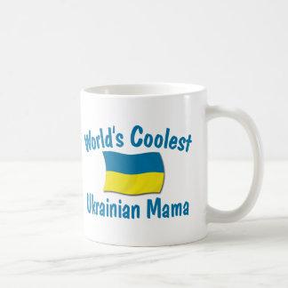 Coolest Ukrainian Mama Coffee Mugs