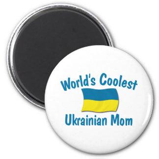 Coolest Ukrainian Mom Magnets