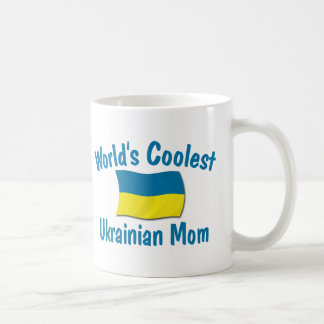 Coolest Ukrainian Mom Coffee Mugs