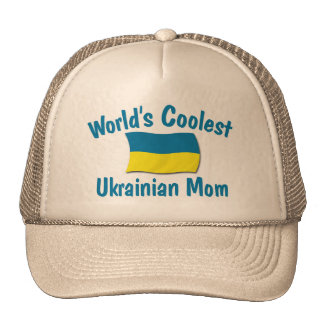Coolest Ukrainian Mom Trucker Hat