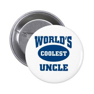 Coolest Uncle Button