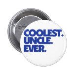 Coolest Uncle Ever Pinback Button