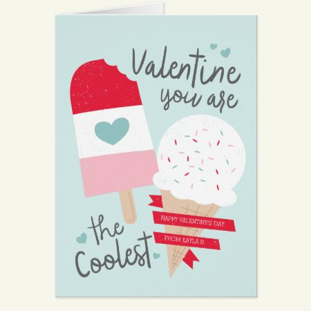 Coolest Valentine Card