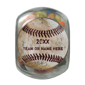 Coolest Vintage Baseball Team Gift Ideas Personali Glass Candy Jar