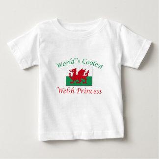 Coolest Welsh Princess Baby T-Shirt