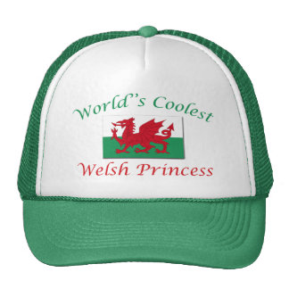Coolest Welsh Princess Trucker Hat