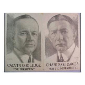 Coolidge 1922 - Dawes Comunicado