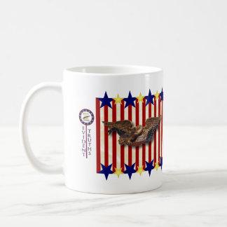 Coolidge - 6 classic white coffee mug