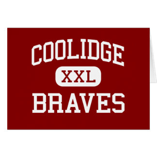 Coolidge - Braves - Middle - Granite City Illinois Greeting Card