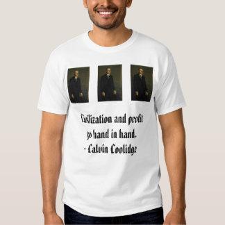 Coolidge, Coolidge, Coolidge, Christmas is not ... T-Shirt