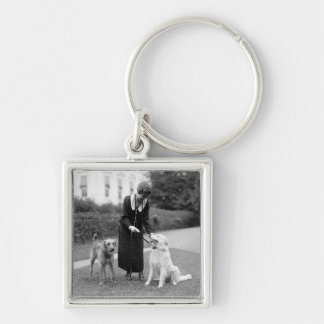 Coolidge & The Gang: 1924 Keychain