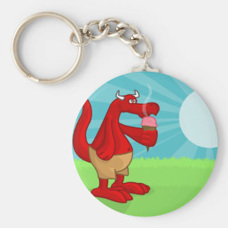 Cooling Down Keychain
