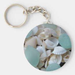 Cooling Glass Keychain