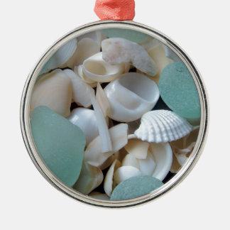 Cooling Glass Metal Ornament