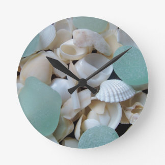 Cooling Glass Round Wall Clock
