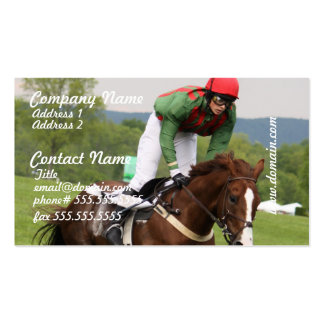 Cooling Horse Business Card
