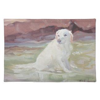 Cooling Off Labrador Retriever Placemats