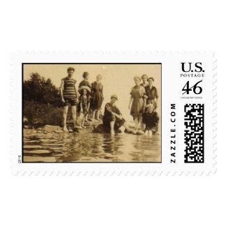 Cooling Off Postage Stamp