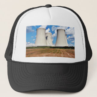 Cooling Towers Of A Nuclear Power Station Trucker Hat