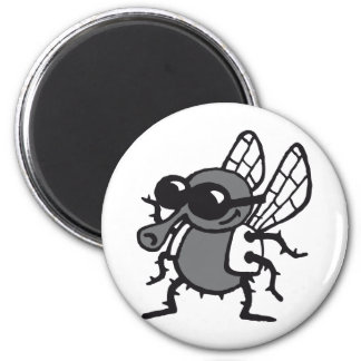 coolly fly 2 inch round magnet