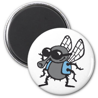 coolly fly 3c white magnet