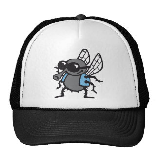 coolly fly 3c white trucker hat