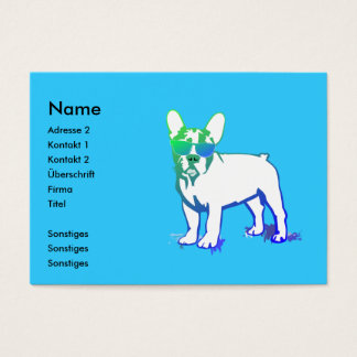 Coolly puppy business card