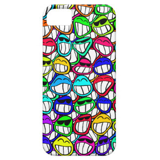 Coolly Smiling Faces iPhone SE/5/5s Case