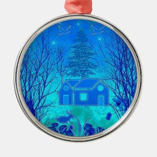 CoolNight Premium Round Ornament