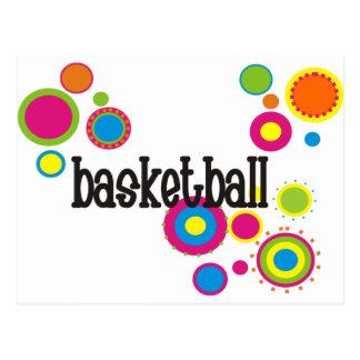 coolpolkadots-basketball-10x10-version4 postcard