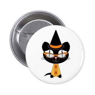 Coolsville Halloween Kitty Pins