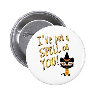 Coolsville Halloween Kitty Button