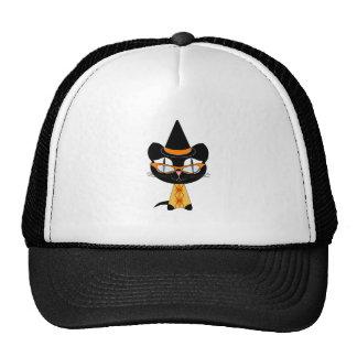 Coolsville Halloween Kitty Mesh Hat