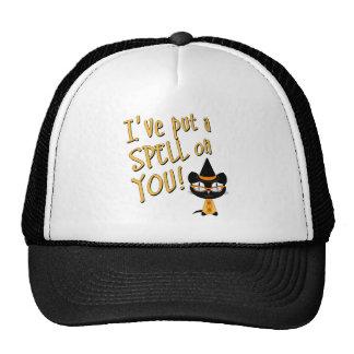 Coolsville Halloween Kitty Mesh Hats