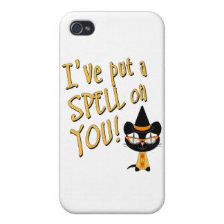 Coolsville Halloween Kitty iPhone 4 Case
