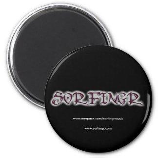 cooltext80001626, www.myspace.com/sorfingrmusic... 2 inch round magnet