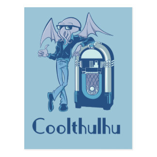 Coolthulhu ( Cool Cthulhu ) Postcard